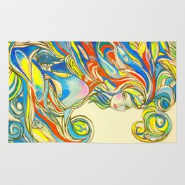 By Your Side  #society6 #decor #buyart Rug