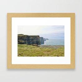 Cliffs of Moher2 Framed Art Print
