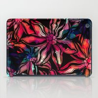 flora iPad Cases featuring flora by Janine Lecour