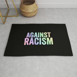 Fight Racism | Antifacists Against Nazis Gift Ideas Rug