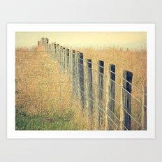 Pastures Art Print