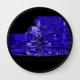 Fairy Fountain Wall Clock