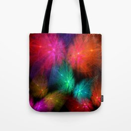 Butterfly Lightshow Tote Bag