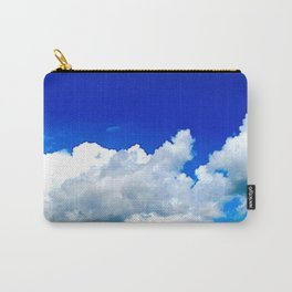 Clouds in a Clear Blue Sky Carry-All Pouch