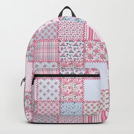 Pretty Pastel Patchwork Backpack