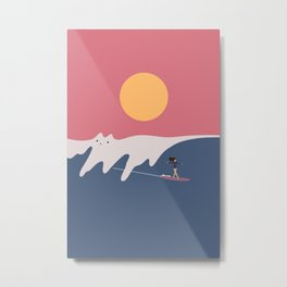 Cat Landscape 91 Metal Print