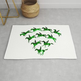 Connected to Showjumping (Green) Rug