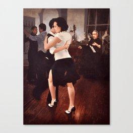Tango Reunion Canvas Print