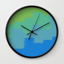 Irrational stairs Wall Clock