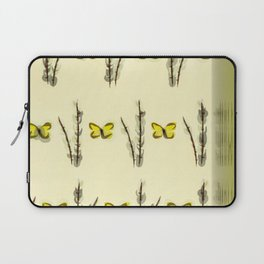 Catkins and Brimstones. Laptop Sleeve