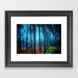 Magicwood #Night Framed Art Print