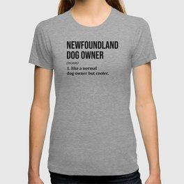 Newfoundland Dog Funny T-shirt