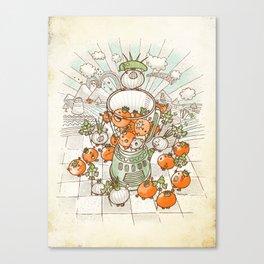 Salsacrifice! Canvas Print