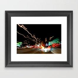 ATX Warped II Framed Art Print