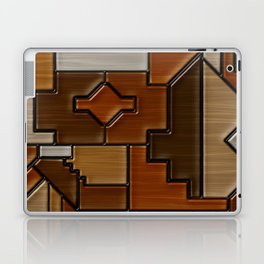 Woodwork Laptop & iPad Skin