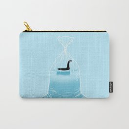 Loch Ness Golden Fish Carry-All Pouch