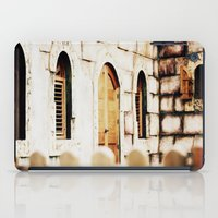 castle iPad Cases featuring Castle by Irène Sneddon