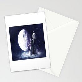 Moon gondolier Stationery Cards