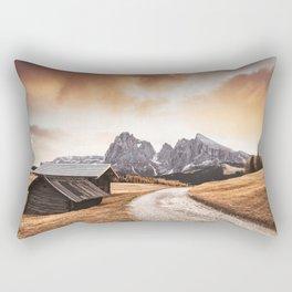 seiser alm in south tyrol Rectangular Pillow