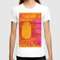 pineapple T-shirts featuring Pineapple by LebensART