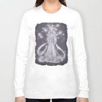 valar morghulis Long Sleeve T-shirts featuring Varda, valar of light by AlyTheKitten