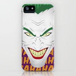 HAHA iPhone Case