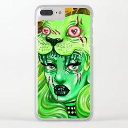 Huntress Clear iPhone Case