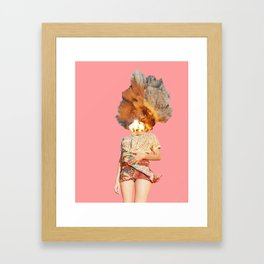 Explosions in Your Head Don't Make a Sound Framed Art Print
