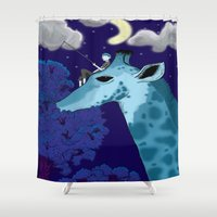 fishing Shower Curtains featuring Fishing by Jake Franssen