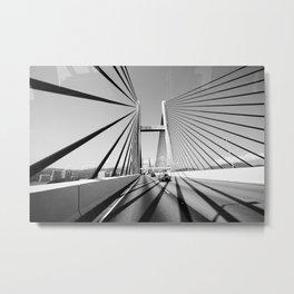 HongKong Bridge Metal Print