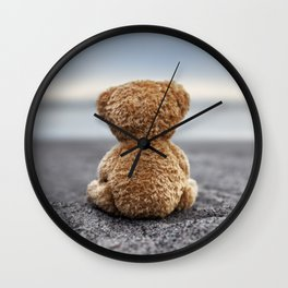 Teddy Blue Wall Clock