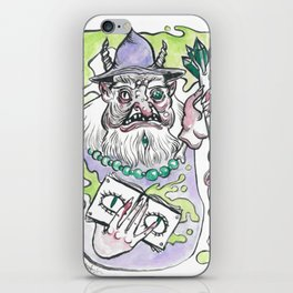Dismantled Wizard iPhone Skin