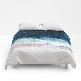 Blue Sea II Comforters