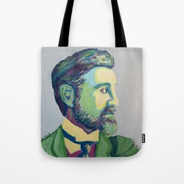 Coloured Roger by Machale O'Neill Tote Bag