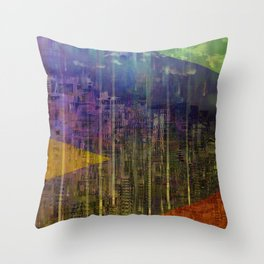 End of Year / Urban 29-12-16 Throw Pillow