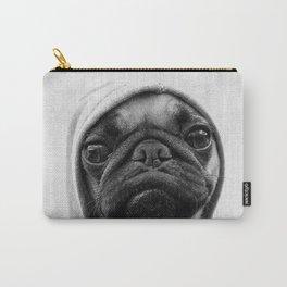 Pug Portrait Carry-All Pouch