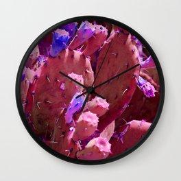 Prickly 1 Wall Clock