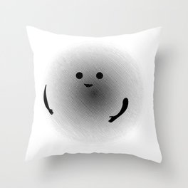 Moirè Friend Throw Pillow