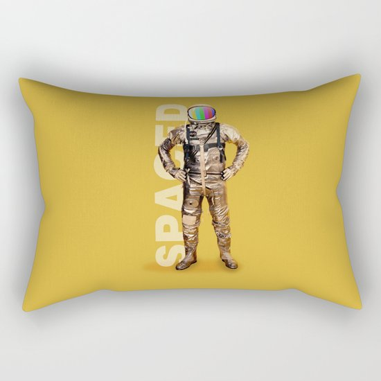 Spaced Rectangular Pillow