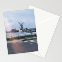 Vintage Color Photo * 1950's * Windmill * Holland * Lumber Production *1940's * Kodachrome Stationery Cards