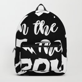 Power in the name of Jesus Backpack
