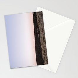 Lone tree on moorland at twilight. Derbyshire, UK. Stationery Cards