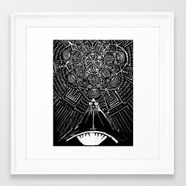 Magus Pi (Eye of God) Framed Art Print