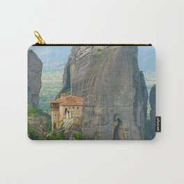 View of one of the monasteries of Meteora. Greece Carry-All Pouch