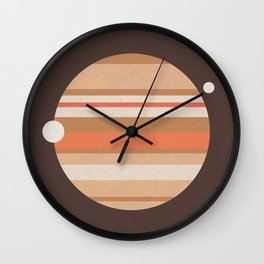 Space and Time (clock21) Wall Clock