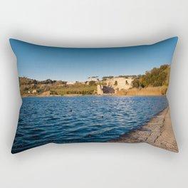 Apollo Temple Rectangular Pillow