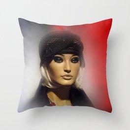 showcased -4- Throw Pillow