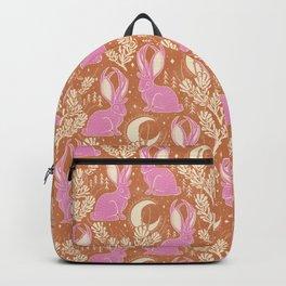 Jackalope - caramel and primrose  Backpack