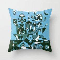 Structura 3 Throw Pillow