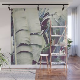 Tattered Leaves Wall Mural